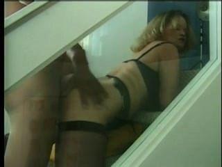 Bbw Slut Mom In Stockings Gets Huge Black Cock Inside Asshole