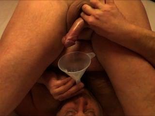 Selfsuck Cum In Funnel 3