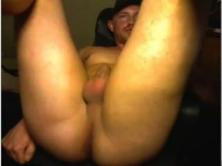 Horny Guy On Cam./