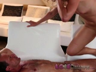 Love Creampie Sweet Teens Tight Honeypie Gets Creamy Wet For Cum Inside
