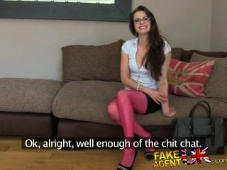 Fakeagentuk Potty Mouthed Milf Gives One Hell Of A Fuck
