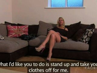 Hot Blonde Amateur Anally Fucked In Office