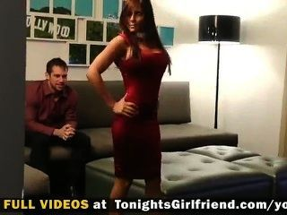 Madison Ivy Plays Girlfriend For Horny Guy