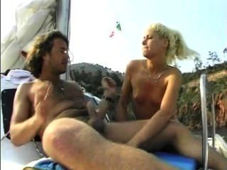 Petite Little College Teen Blows And Fucks A Sailor On His Boat