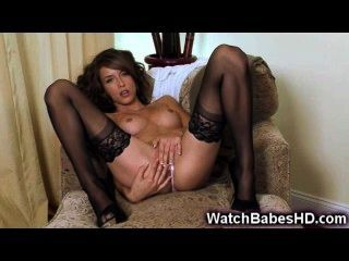 Malena Morgan Strip And Hot Solo!