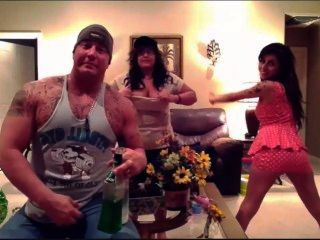 Marisol, Rebecca And Ryback On Ps4 Tits