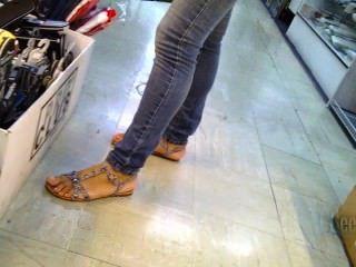 Feet And Sandals Faceshot