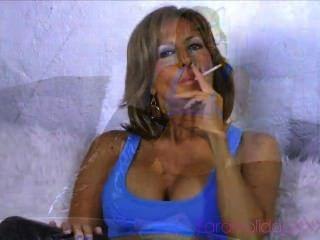 Hot Mature Smoking
