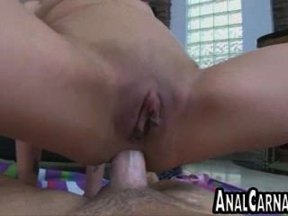 Tan Asian Milf Ass Fucked By A Big Cock