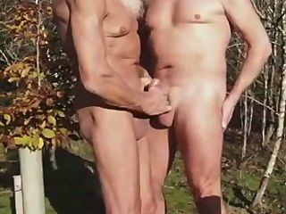 2 Mature Man At The Park.