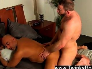 Hot Gay Sex After A Day At The Office, Brian Is Need Of Some Daddy Dick,
