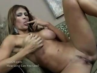 Creampie For This Hot Latina