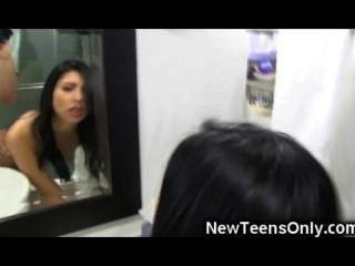 Teenie Latina Pov Fuck And Cum!