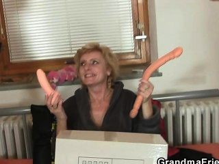 She Takes Two Cocks At Once