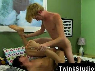 Gay Fuck Kyler Gets A Moist Throat From The Face-pounding Before He Takes