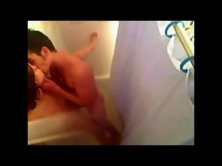 Hot Teen Couple Have Sex In The Shower
