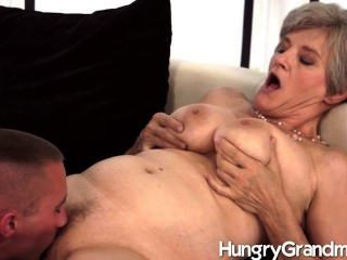 Hungry Old Pussy And A Hot Hunk