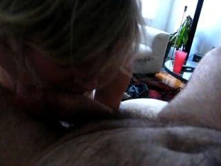 Cum Extractor Pixxxie Sue Sucks My Cock And Takes My Birthday Load