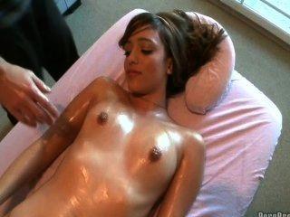 Melanie Has A Sexy Masage
