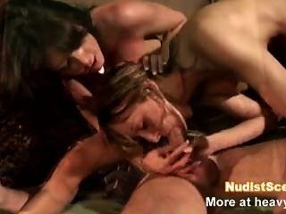 Hardcore Pornstar Threesome