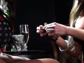 Kaylani And Samantha Cigar Shoot