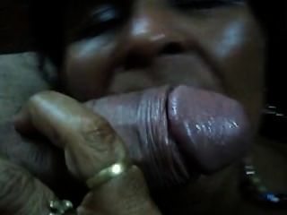 Sexy Old Mexican Whore Suckin Dick
