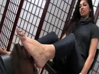 Indian Feet Worship