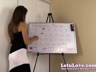 Lelu Love-impregnation Training Program Schedule