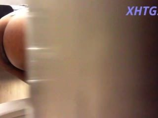 A Clear Shot On Hidden Camera Female Toilet