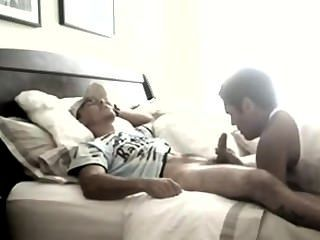 Straight Guy Completely Drained