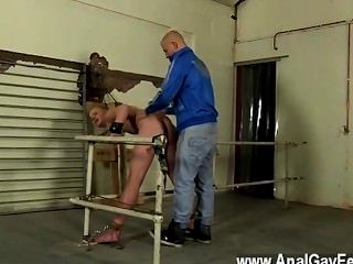 Hot Twink Scene An Anal Assault For