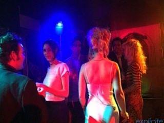 French Blonde Slut Swinger Magella Gets Cum All Over