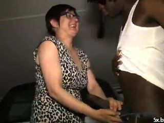 Hot Mature With 2 Black Cocks