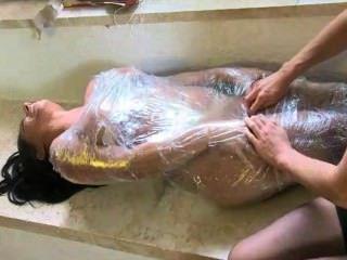 Alexis Rain Saran Wrapped