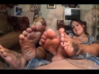 Aunty Footjob