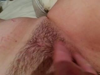 Masturbating With Glass Dildo 2