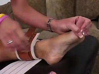Tricky Tickle Nurse Part 2 - F/f Blonde Tickles A Blonde!