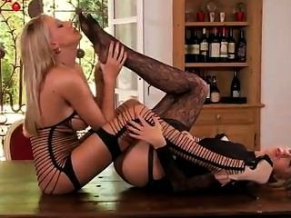 Danielle Maye And Teena Licking Feet