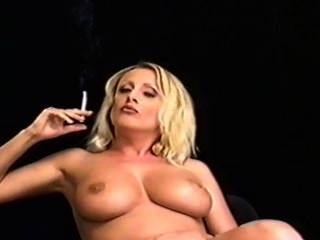 Zora Banks Cig Smoking