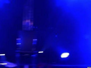 Lena Nitro And Mia Magma Double Dildo Show