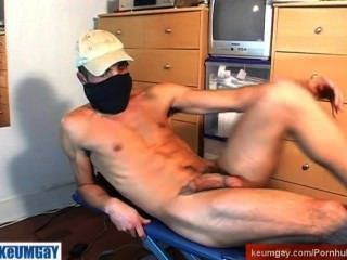 French Arab Str8 Guys Serviced His Huge Cock !