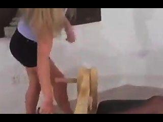 liz gets more tickling